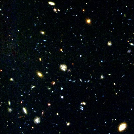 hubble deep fields orion - photo #1