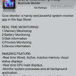 iPhone App: Core Monitor (Free) – Clear iPhone memory (RAM)