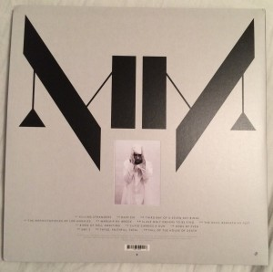 Marilyn Manson – The Pale Emperor (Back)
